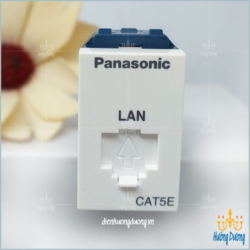 thiet bi dien panasonic cat5 800x800 - Ổ CẮM DATA  PANASONIC WIDE (WEV2488SW)
